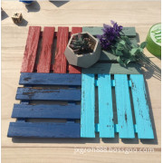 Photographic background Colorful Decorative Wood Board