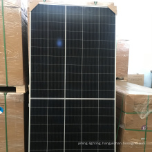 375W/ Trina Class B 9BB/monocrystalline half cell /black frame white /1 pallet 10 panels/ solar renew panel energy cell