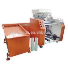 Envasado automático de paletas de película película de estiramiento película de plástico rewinder maquinaria