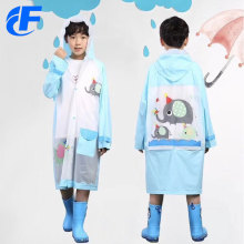 High Quality PVC Rain Ponchos Raincoat With Snap