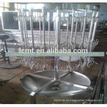 China máquina de corte rotatoria de la matanza de gama alta