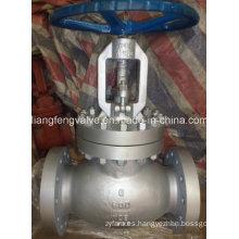 Válvula de globo de extremo de brida de acero al carbono 600lb