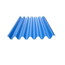 Corrugated Steel Roofing Sheet med Color Coated