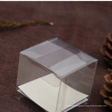 Véritable fabricant pas cher boîte claire PET (boîte d'emballage en plastique)