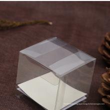 Real Fabricante barato caixa de PET Transparente (caixa de embalagem de plástico)