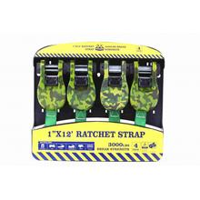 12Ft Ratchet Tie Down Belt με 1360KGS