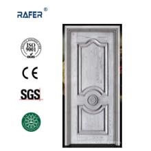 Vendre la meilleure porte en bois solide d'apprêt blanc (RA-N027)