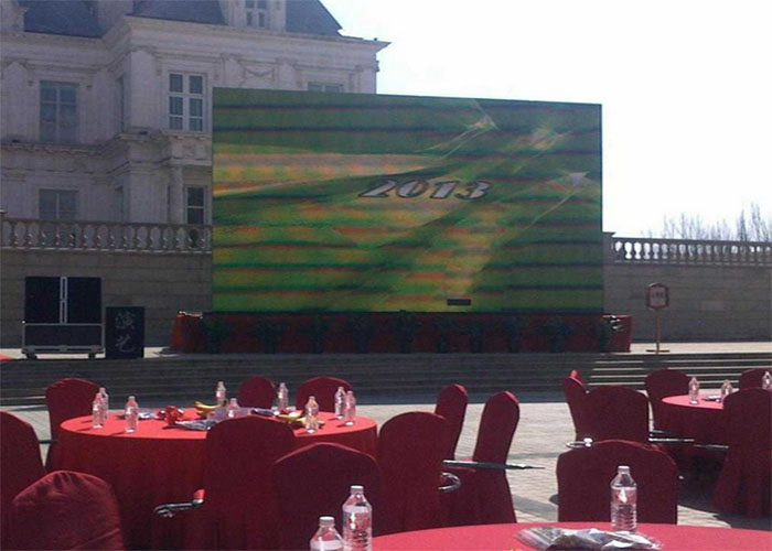 Stage Outdoor Rental LED scherm SMD2727