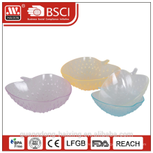 HAIXING Popular Apple shape Plastic bowl