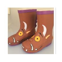 Brown Upper: Children Rubber Boots