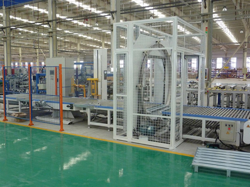 Orbital Tube Wrapping Machine