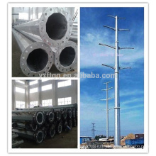 Хорошее качество Guyed Mast Электрическая мощность Стальной полюс