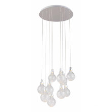 Modern Elegant Glass Home Pendant Lamp (MD4234-10)