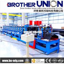 Máquina formadora de rollo intercambiable de C & Z Purline con sistema hidráulico