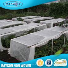 Tissu non tissé industriel de couverture de légumes de couverture de fabricant d'OEM