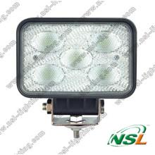 Lámpara pesada del camión de la máquina LED 50W para el tractor, coche, ATV, carretilla elevadora, explotación minera