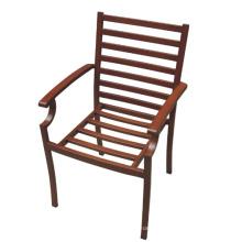Ferro forjado jardim mobiliário exterior pátio jantar conjunto de cadeira