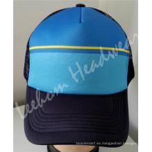 Gorra de malla de esponja de camionero Snapback (LTR15021)