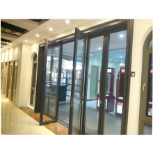 China supplier 2.0mm profile thickness insulated glass accordion door