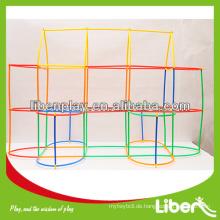 Lustige Plastik-Baustein Spielzeug LE-PD077