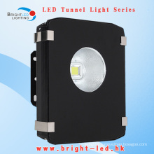 Low Decay High Lumens Bridgelux IP65 COB CE&RoHS 3 Year Warranty LED Tunnel Lights 50W