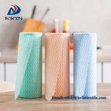 Spunlace non-tissé plat jetable tissu sec