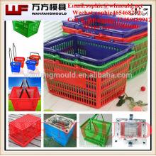 China Taizhou Huangyan Wanfang folding fruit basket mould/plastic injection folding fruit basket mould/folding fruit basket mold