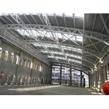 Truss de tubo de acero de techo de plataforma
