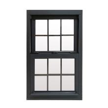 Usine en gros petites fenêtres en aluminium simple fenêtre accrochée vitrée