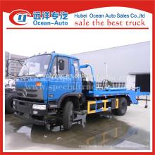 Dongfeng capacidad 8cbm de brazo oscilante camión de basura