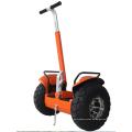 equilibrio exterior de coche eléctrico de dos ruedas