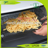 PTFE Non-stick Fried Chips Fry Mesh Basket For Kitchen