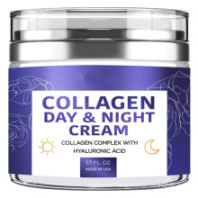 Collagen Cream Organic Anti Aging Face Moisturizer Skin Care Crean