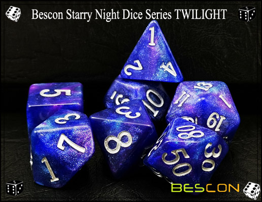 Starry Night Dice-16