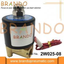 Válvulas solenoides neumáticas DC12V 2W025-08