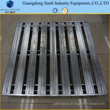 CE-zugelassene stapelbare rostfreie Metallpalette