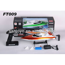 rc speed boats for sale High speed racing boat FT009 hobby model 4CH yacht 30km/h 2.4g rc speed boats (water cooling system)