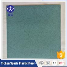 Tipo de piso de plástico y revestimiento de piso de autobús de pvc de tratamiento de superficie de color simple