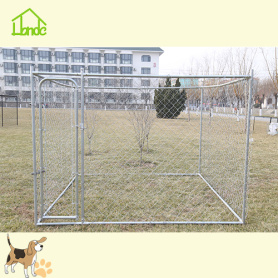 Der Metallkette Link Dog Kennel