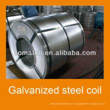 Aluzinc bobina de acero Galvalume acero galvanizado, planta de China