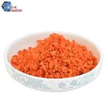 Granules de carotte séchés à l'air chinois de bonne qualité 3 * 3mm Grade A