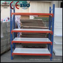 Prateleiras de armazenamento / exposição de aço laminadas do dever médio