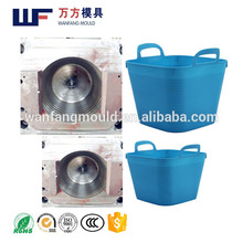 OEM Custom household products plastic laundry basket injection mould/high quality plastic laundry basket injection moulding