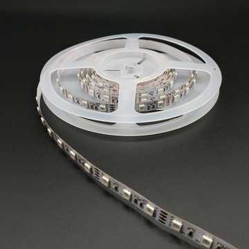 High brightness 5050RGB 60led DC12V dimming led strip