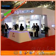 diseño modular de la exposición del soporte de la feria profesional de Shangai del fabricante de la cabina de las exhibiciones