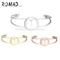jewelry wholesale sliding crystals cuff gold women bracelet