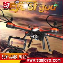 Original JJRC H11D 6 ejes Gryo 5.8G FPV sin cabeza en modo Drone RC Quadcopter con cámara de 2MP RTF 2.4GHz VS JJRC H9D SJY-JJRC H11D