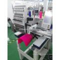 одноголовочная 15 цветов вышивальная машина Компьютеризованная кепку и футболку Машинная вышивка