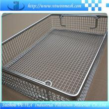 Corrosión-Resistencia de la cesta de malla de alambre de acero inoxidable