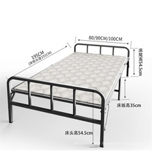 High Quality Wholesale Portable Hotel Cot Extra Wall Folding Bed